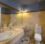 حمام غرف فندق الوكالة أكوا بارك ريزورت _ طابا