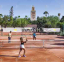 ملعب التنس فندق مدينة جاردينز أديلتس اونلي -